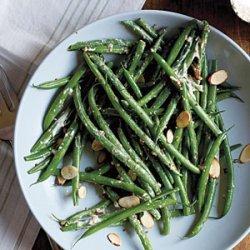 Green Bean Salad with Mustard Crema recipe