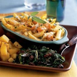Butternut Squash and Parsnip Baked Pasta recipe