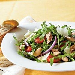 Arugula, Italian Tuna, and White Bean Salad recipe