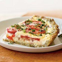 Italian Tomato Tart recipe