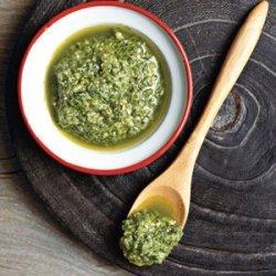 Simple Risotto with Pesto recipe