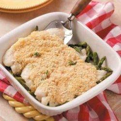 Asparagus Fish (cod, haddock or orange roughy) Bake recipe