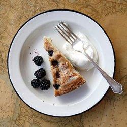 Buttermilk Cake with Blackberries recipe