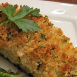 Parmesan Crusted Baked Fish recipe