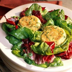 Baked Goat Cheese Salad recipe
