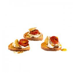 Goat Cheese and Roasted Tomato Crostini recipe