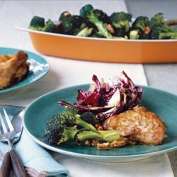 Roasted Broccoli and Pecans recipe