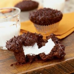 Devil's Food Cupcakes with Marshmallow Filling recipe