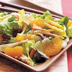 Asian Chicken Salad with Sweet and Spicy Wasabi Dressing recipe