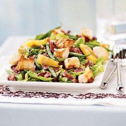 Radicchio, Haricots Verts, and Sweet Lettuce Salad recipe