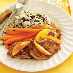 Pork Tenderloin with Sauteed Apples recipe