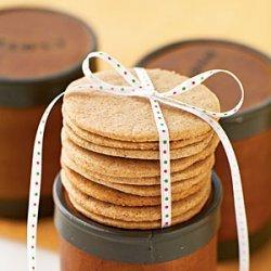 Spiced Vanilla Cookies recipe