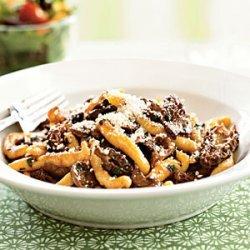Makaruni Pasta with Morel Mushroom Sauce recipe