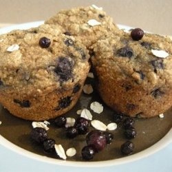 Blueberry Oatmeal Muffins Recipe recipe