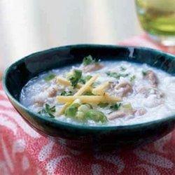 Rice Congee Soup (Jook) recipe