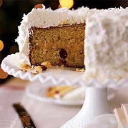 Lemon Coconut Cake with Whipped Cream Frosting recipe