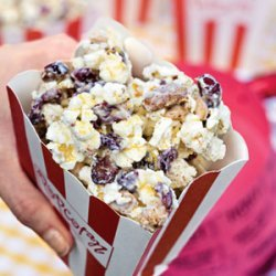 Gold-Dusted White Chocolate Popcorn recipe