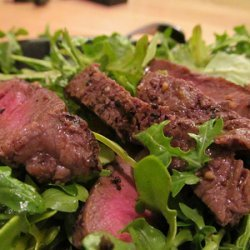 Rib Eye and Arugula Salad recipe
