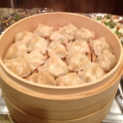 Shrimp Dumplings with Sweet-and-Sour Dipping Sauce recipe
