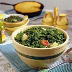 Southern Turnip Greens and Ham Hocks recipe