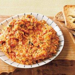 Roasted Red Pepper and Zucchini Spread recipe