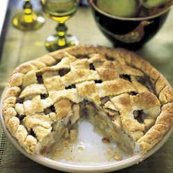 Lattice Pie with Pears and Vanilla Brown Butter recipe