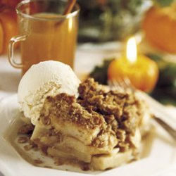 Apple Crumble and Vanilla Ice Cream recipe