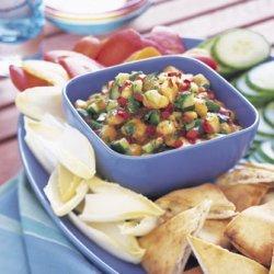 Peach and Cucumber Salsa recipe