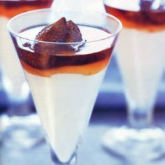 Honeyed Panna Cotta with Dried Figs and Sauternes recipe