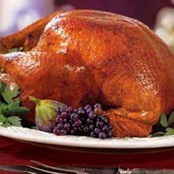 Cider-Basted Turkey with Roasted Apple Gravy recipe