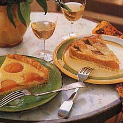 Apricot Tart with Honey and Almonds recipe