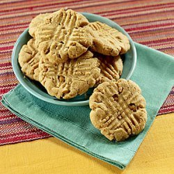 Peanut Butter Cookies with Butterscotch Bits recipe