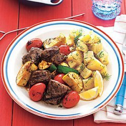 Lemon Dill Potato Salad recipe