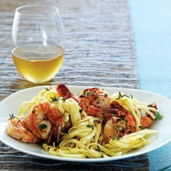 Linguine with Peppery Shrimp recipe