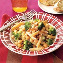 Pasta with Chickpeas and Broccoli recipe