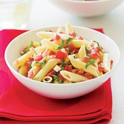 Fresh Tomato and Basil Pasta recipe