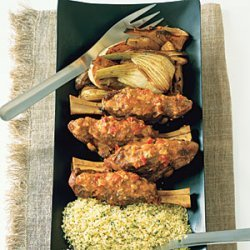 Braised Lamb Shanks with Fennel recipe