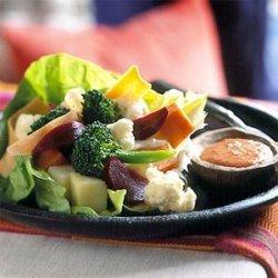 Crunchy Vegetable Salad recipe