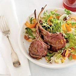 Rack of Lamb with Carrot Salad recipe