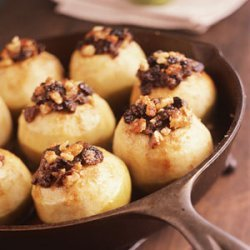 Stuffed Granny Smiths With Maple Sauce recipe