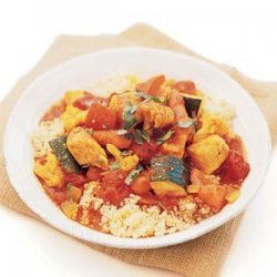 Spiced Chicken and Vegetable Couscous recipe