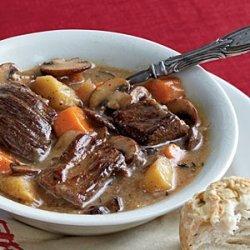 Belgian Beef and Beer Stew recipe