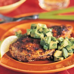 Seared Chicken with Avocado recipe