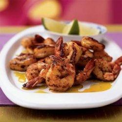Spiced Shrimp with Avocado Oil recipe
