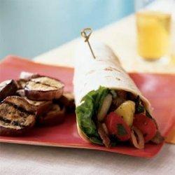 Thai Beef Salad Wraps recipe