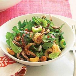 Vietnamese Calamari Herb Salad recipe