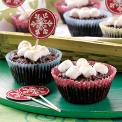Chocolate and Marshmallow Cupcakes recipe