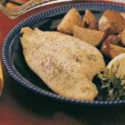 Baked Fish (perch, trout or whitefish) recipe