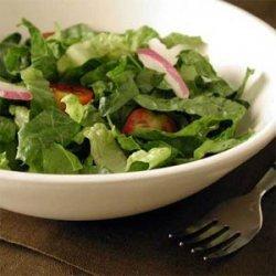 Romaine Salad with Avocado-Lime Vinaigrette recipe