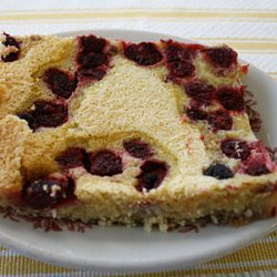 Raspberry Kuchen Bars recipe